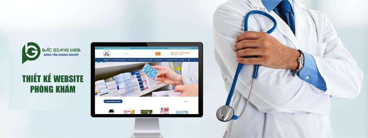 Thiết kế website phòng khám tại Bắc Giang